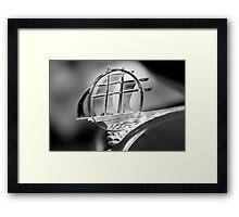 Plymouth hood ornament Framed Print