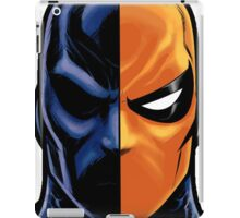 deathstroke mask iPad Case/Skin