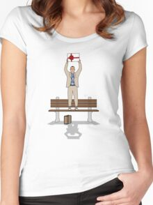 Mama Said, Say Anything Women's Fitted Scoop T-Shirt