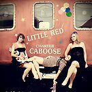 The Little Red Caboose by lisabella
