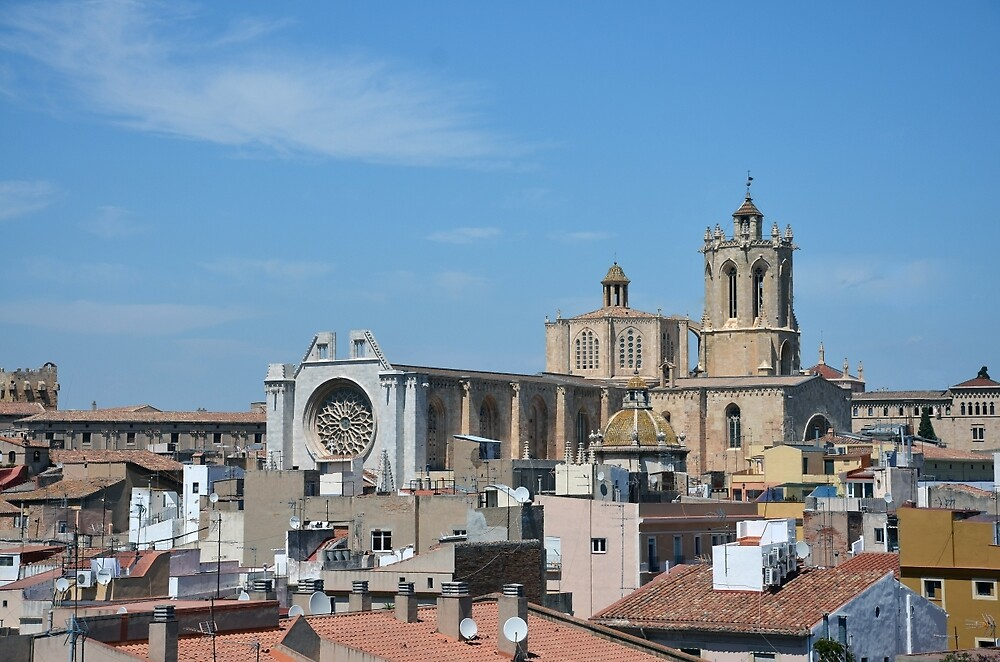 Tarragona Cathedral, Catalonia by Chris Monks