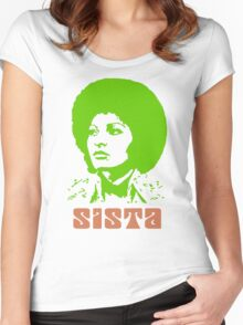 Sista Women's Fitted Scoop T-Shirt