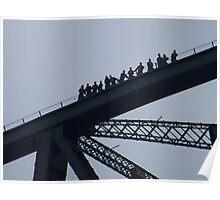 Harbour Bridge Climb Poster