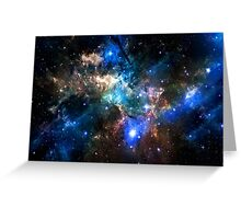 Space Design Greeting Card