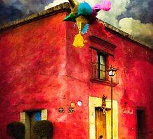 Dusk in Oaxaca Mexico by Mark Tisdale