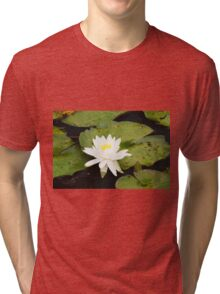 Water lily Tri-blend T-Shirt