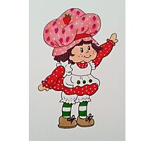 Strawberry Shortcake 80's  Photographic Print