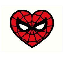 I <3 Spider-man v.2 Art Print