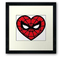 I <3 Spider-man v.2 Framed Print