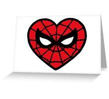 I <3 Spider-man v.2 Greeting Card