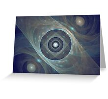 Galaxy Of Worlds Greeting Card