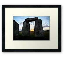 Sunrise 06:52 Framed Print