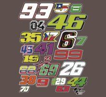 MotoGP Rider Numbers - 2014 Kids Clothes