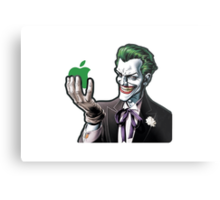 joker loves apple Metal Print