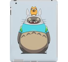 Finn Totoro iPad Case/Skin