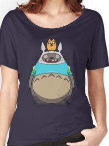 Finn Totoro Women's Relaxed Fit T-Shirt