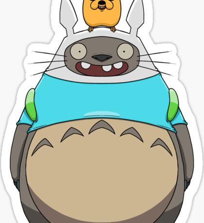 Finn Totoro Sticker