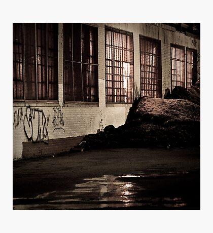 garage Photographic Print