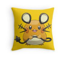 Dedenne Throw Pillow