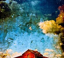 The Red Barn - American Fantasy by Mark Tisdale