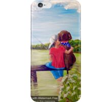 Head In the Clouds, Pole In the Water, Dog In His Heart iPhone Case/Skin