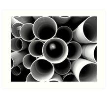 pipes Art Print