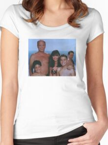 Beach Boy George Women's Fitted Scoop T-Shirt