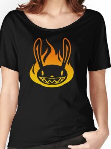 Pyro Rabbit Women's Relaxed Fit T-Shirt