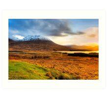 Loch Tulla - Scottish Highlands Landscape Art Print