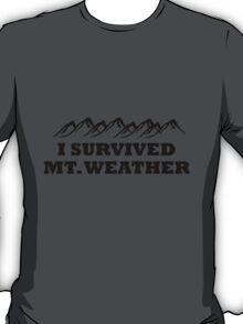 I survived Mt. Weather T-Shirt