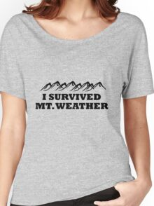 I survived Mt. Weather Women's Relaxed Fit T-Shirt