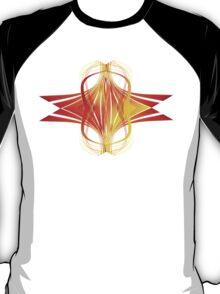 Fire Waves Expanding T-Shirt