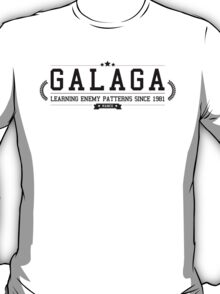 Galaga - Retro Black Clean T-Shirt