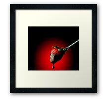 To Die For Framed Print
