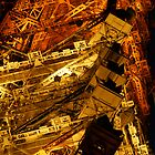 Tokyo Tower by night (3 of 3) by Nick Lowe