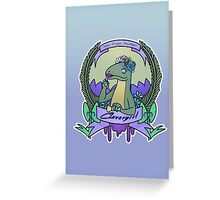 Clevergirl Greeting Card