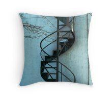 Spiral Staircase Throw Pillow