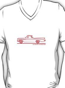 1959 1960 Chevrolet El Camino Red T-Shirt