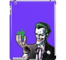 joker loves apple iPad Case/Skin