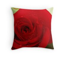 """10th anniversary rose """" Freedom"""" #2 Throw Pillow"""