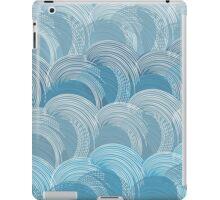 Waves pattern iPad Case/Skin