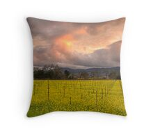 Napa Sunset Throw Pillow