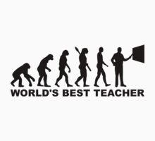 World's best teacher Evolution by Designzz