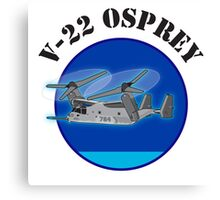 Bell Boeing V-22 Osprey Canvas Print