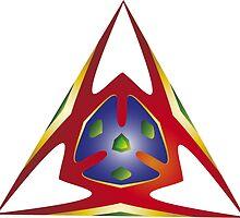 Alien Triangle by BorisBurakov