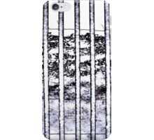 Snow on a Snow Fence Patterns Contrasts iPhone Case/Skin