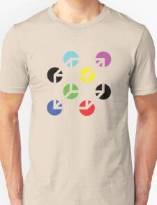 Gestalt Continuity Cube Coloured T-Shirt