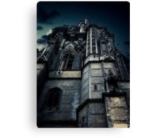 Gothic view Canvas Print