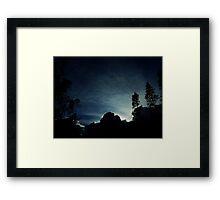 The Light of Heaven Framed Print