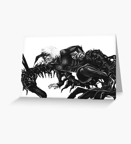 Kaneki Ken Ghoul Greeting Card